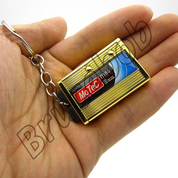 Modified Car Parts Mini Engine Management System Keychain Key chain Auto  Parts M800 M600 M84 Motec Key Ring Keyring