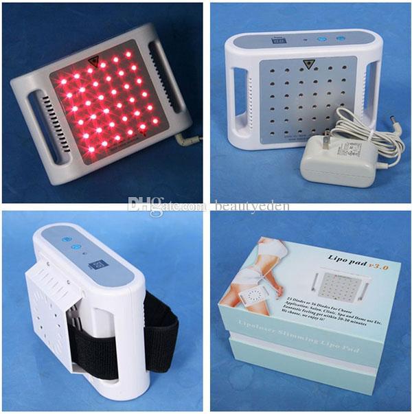 Mini Lipolaser lipólisis láser adelgazante máquina liposucción láser Mini Laser Lipo que adelgaza Lipolaser Pad