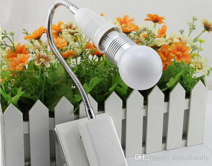Nueva llegada Adaptador de fuente de alimentación de CA con enchufe de EE. UU. / AU a bombillas E27 Adaptador de zócalo Ajuste halógeno Luz de mesa flexible / con interruptor de apagado