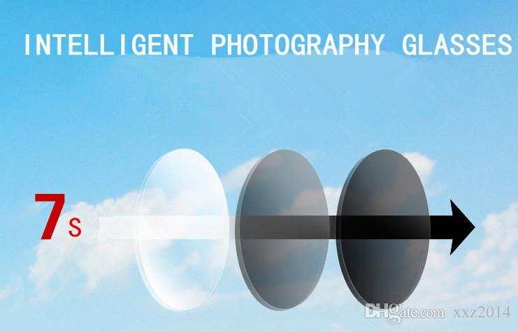 تخصيص 1.56 HMC Muti-Color PhotoChromic SereCromic Asperic Resin Consines عدسات SV-8 --- + 6 للنظارات الشمسية وصفة شحن مجاني