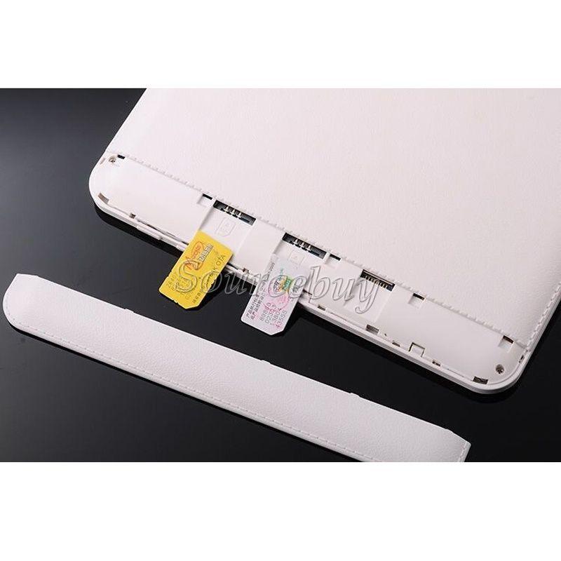 "New Dual SIM Phablet MTK6572 Dual Core 10"" 3G Unlocked Android4.4 WIFI GPS Bluetooth 1GB RAM 8GB ROM Phone Call Tablet PC"