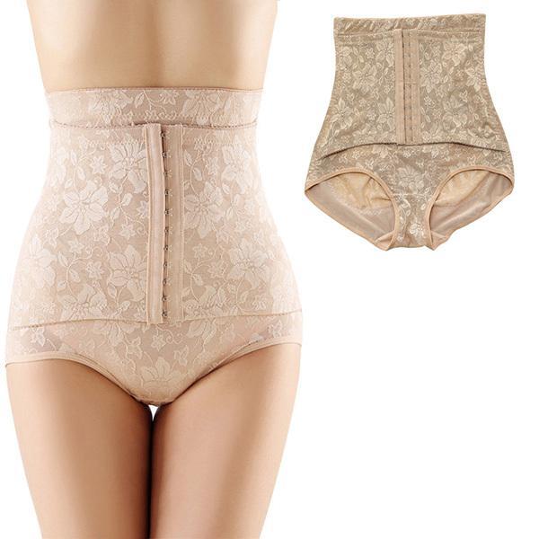 a458a5135c 2019 Wholesale Women Jacquard Seamless Body Shaping Pants Corset High Waist  Underwear Shapewear From Elizabethy