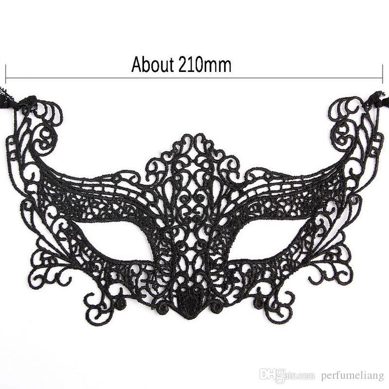 Schwarz Schmetterling Spitze Maske Frauen Sexy Tier Party Masken Faszinierende Lustige Gesichtsmaske Für 2016 Party Queen