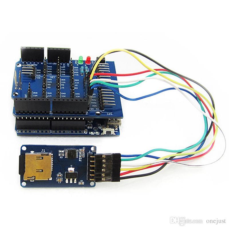 Micro SD Доска для хранения Mciro SD TF Card Memory Shield Модуль SPI Arduino B00315 Osth