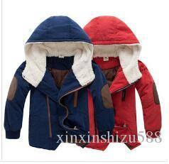 88e12fd48 Retail 2014 New Kids Boys' Winter Outerwear Hooded Coat Top Quality ...