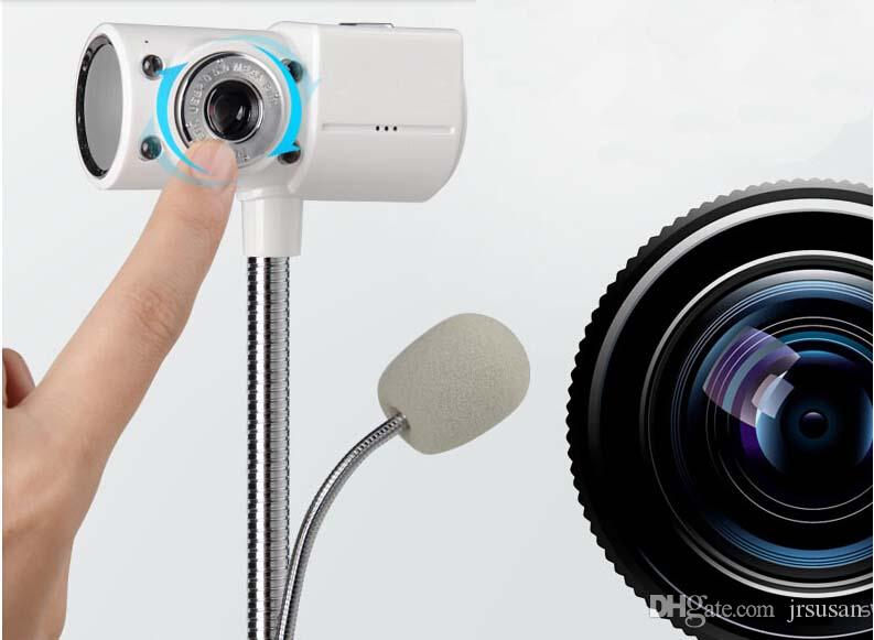 New Brand Webcam HD USB 2.0 Cameras Desktop PC Computer Web Camera With Microphone Night Vision Free Driver Laptop Web Cam
