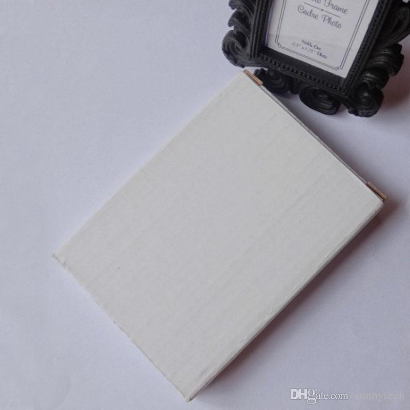 الفيكتوري نمط الراتنج WhiteBlack الباروك الصورة / إطار الصورة مكان حامل البطاقة الزفاف دش الحسنات هدية ZA1230