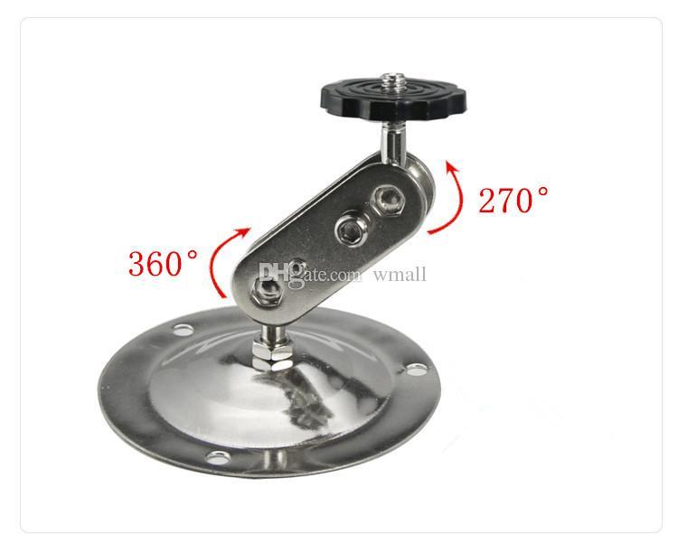 Tavan Duvara Montaj veya Braketi CCTV Kamera için dönen braket gözetim kamera / monitör özel ücretsiz kargo