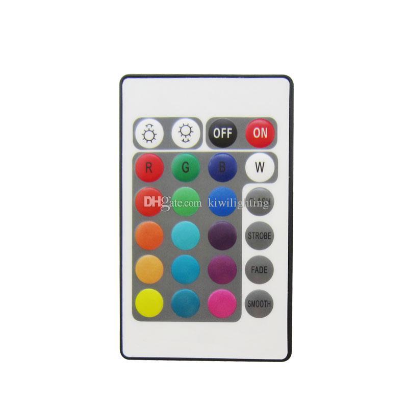 DC9-12V 16million Cores Wifi LED RGB / Controlador RGBW + IR 24 Teclas de Controle Remoto Para Luz de Tira Led 25 jogos / lote