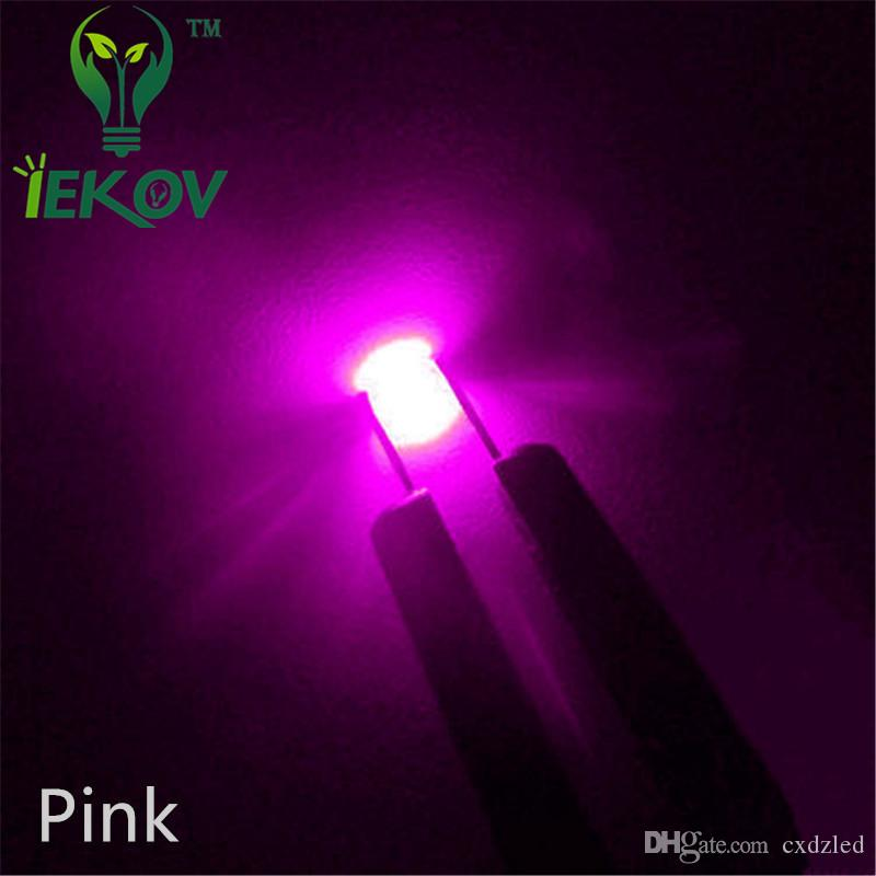 0805 SMD/SMT Pink High Quality LED 300-500mcd SMD Chip lamp beads Ultra Bright Light Emitting diode Suitable for DIY Car