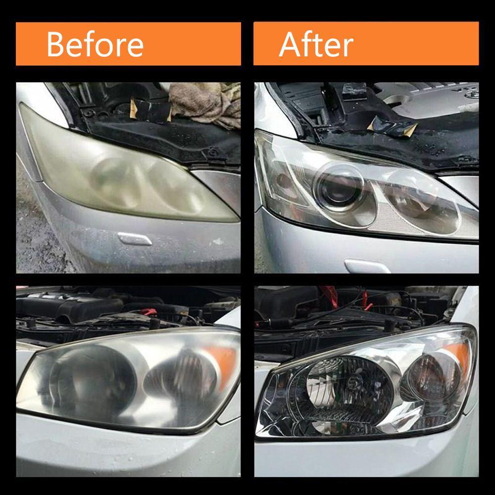 Фары автомобиля полировка фары Отбелиаватель комплект против царапин фар Restorstion комплект для автомобиля Фара линзы восстанавливает ясность