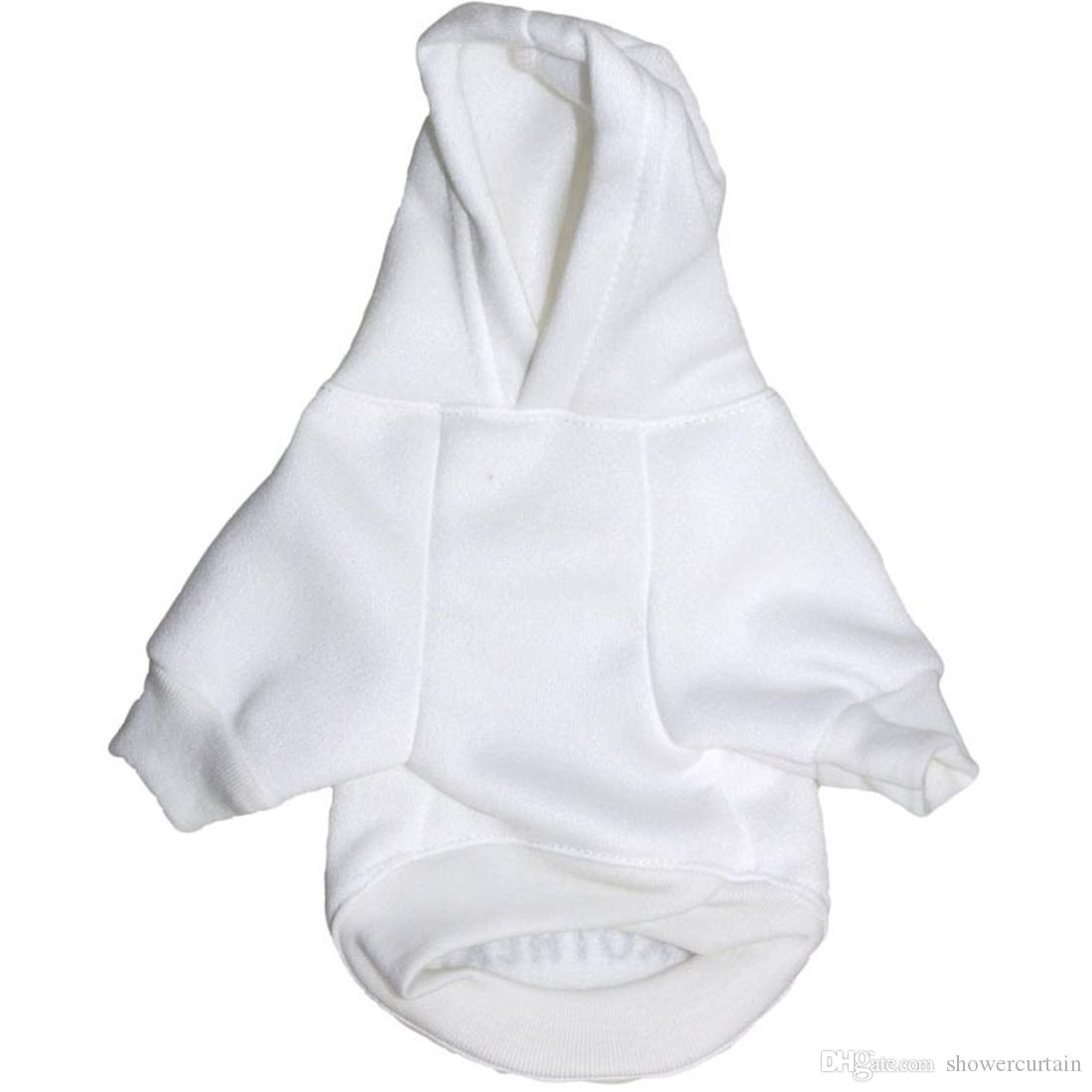 Creative Design Big Brother Puppy Dog Warm Hoodies White Pet Coat Sweater Apparel for Sale Fast