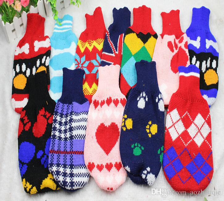 Wholesale Best price for Dog Sweater Pet Puppy Knit Jumper Jacket Warm Clothes Coat