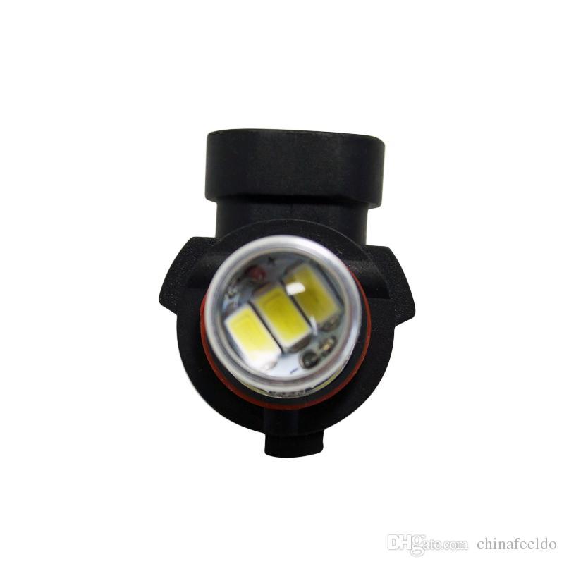 2adet Beyaz Araba 12V 9006 / HB4 33SMD 5630 LED Sis Ampul Lamba # 4373