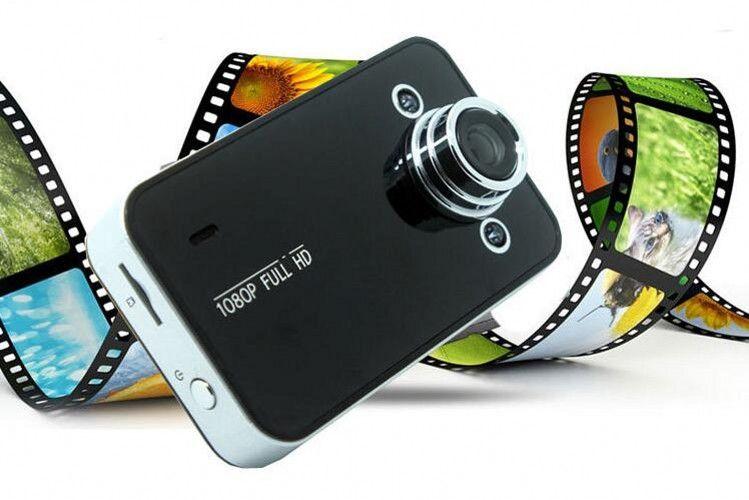 DVR para automóvil K6000 NOVATEK 1080P Full HD LED Night Recorder Dashboard Vision Veicular Camera dashcam Carcam video Registrator DVR para automóvil