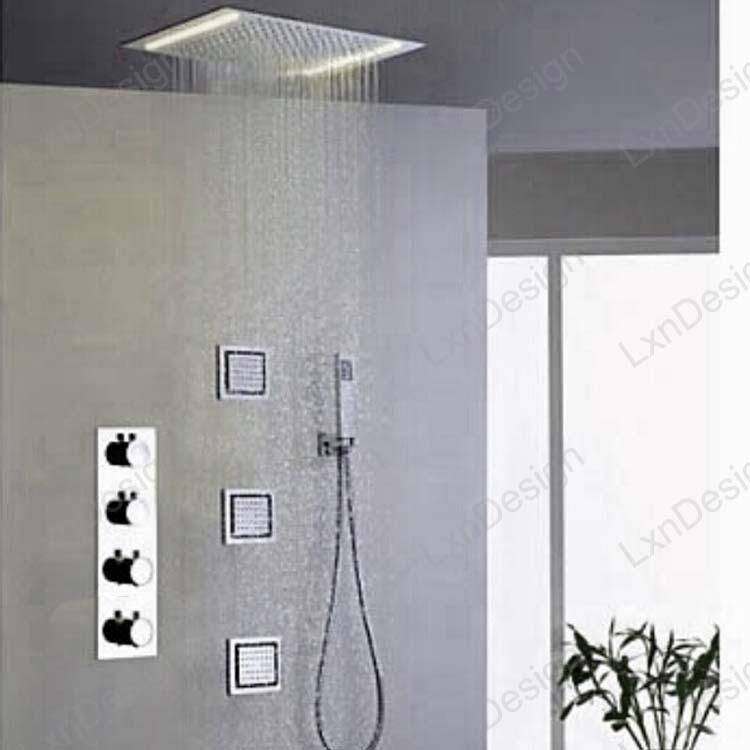 Embeded Ceiling Mounted Bathroom Mirror Finish Stainless Steel - Ceiling mounted bathroom mirror