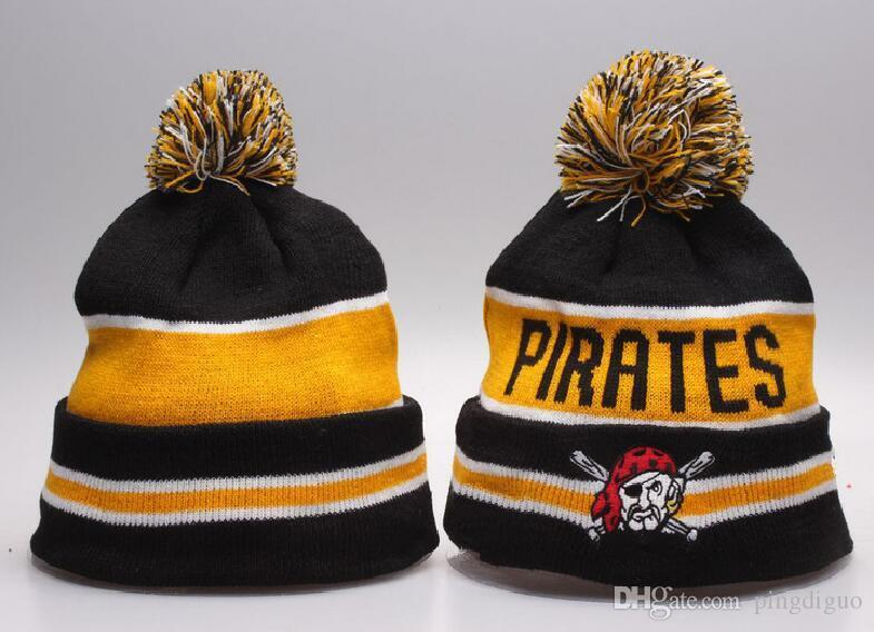 new pirates beanies embroidered team winter caps men women classic baseball cap bucket hats beanie from baby hat
