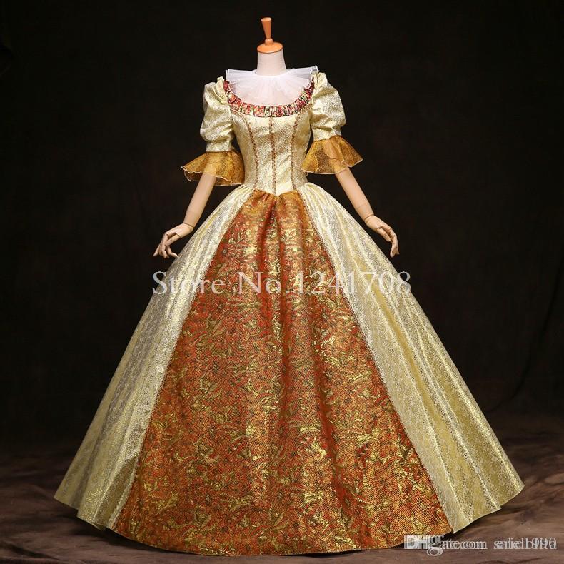 146973e249fd6 High-grade British Queen Marie Antoinette Dress 18th Century Rococo  Renaissance Historical Victorian Era Costume Theare Costume