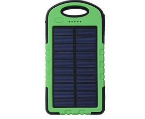 New 8000mAh Solar Power Bank waterproof Charge battery With LED Light Travel Universal Outdoor Powerbak for Iphone for Samsung