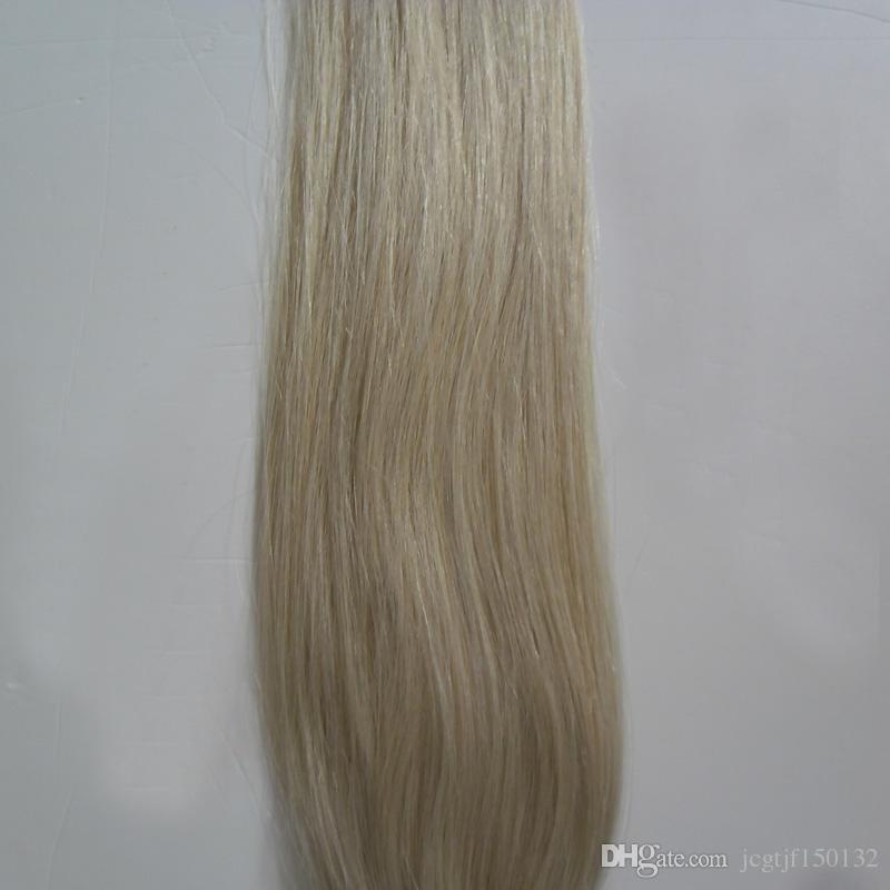 # 613 Nastro capelli biondi brasiliani con candeggina in estensioni Capelli biondi capelli 20 pezzi 50 g Estensioni capelli con trama dritta