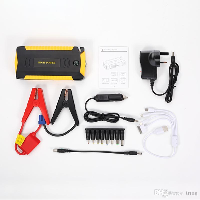 Neue hohe Kapazität 69800mAh Auto Starthilfe Benzin Diesel 4 USB Auto Power Bank Kfz Booster Start Jumper