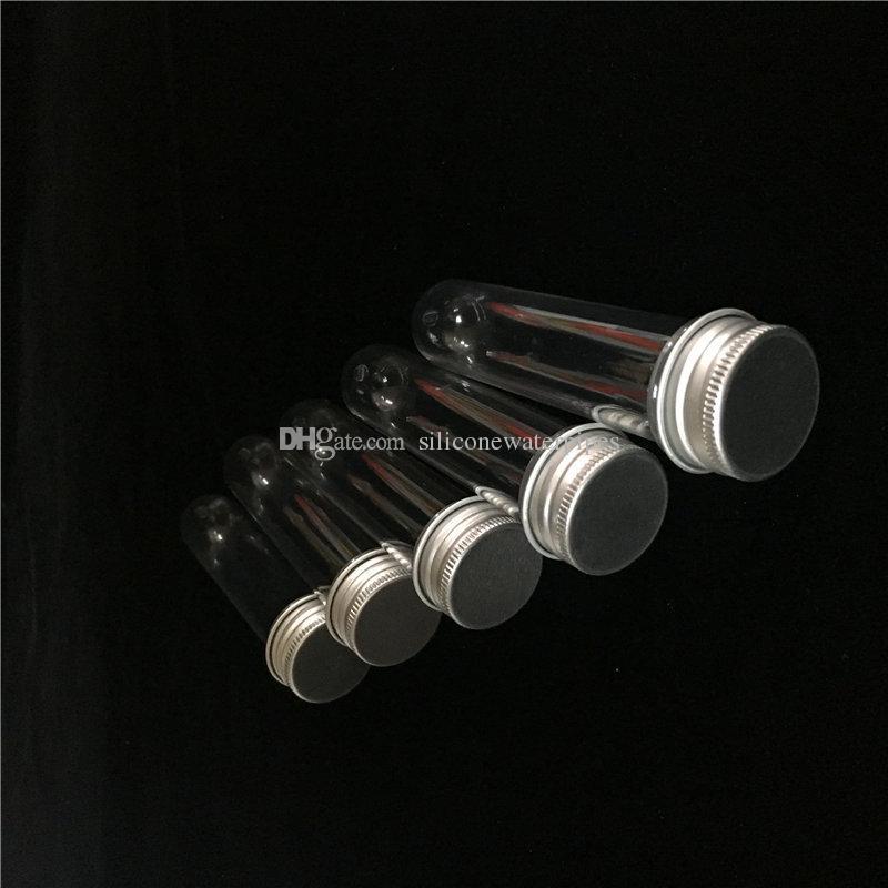 Preiswerte / 30ml Vaper Vials 4,3 Zoll lange Aluminiumdeckel Kunststoffrohre Wachsgläser On Sale Kostenloser Versand Weltweit