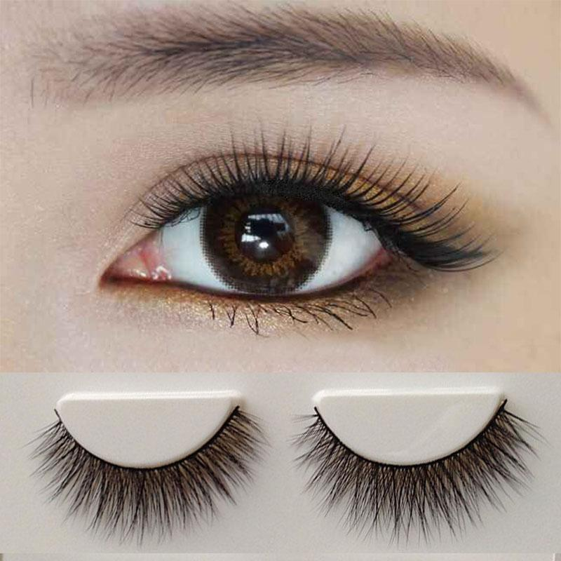 Plastic eyelashes aliexpress com buy 10pairs reusable for Craft eyes with lashes