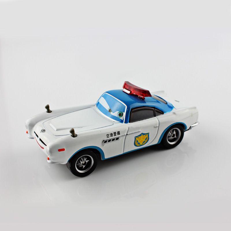 Pixar Kids Toys Race Car Agent Finn Airport Police