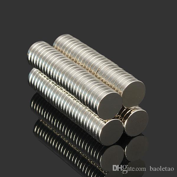 100 pz N52 NdFeB Super Strong Disc Magneti 10mm x 2mm Magneti al neodimio a terre rare