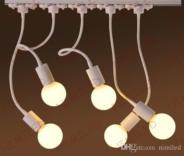 Nimi963 6W LED Iluminación de riel Luz Poste de la manguera Luces curvas Sala de exposición Proyectores Lámparas de fondo Lámpara de techo iluminada