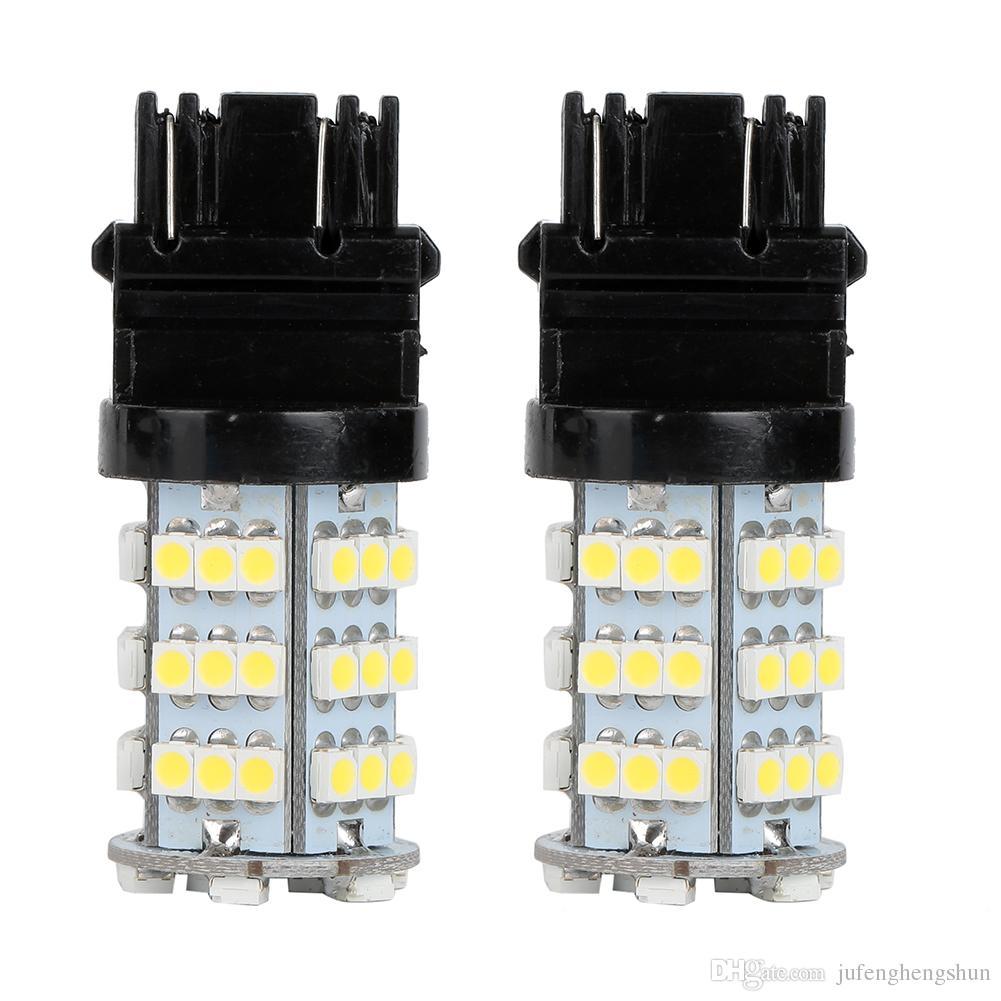 LED Car Light Bulb 3157 54Smd 3528 12V White LED Bulb DRL Daytime Running Turn Signals Backup Reverse Light Universal LED Lamp