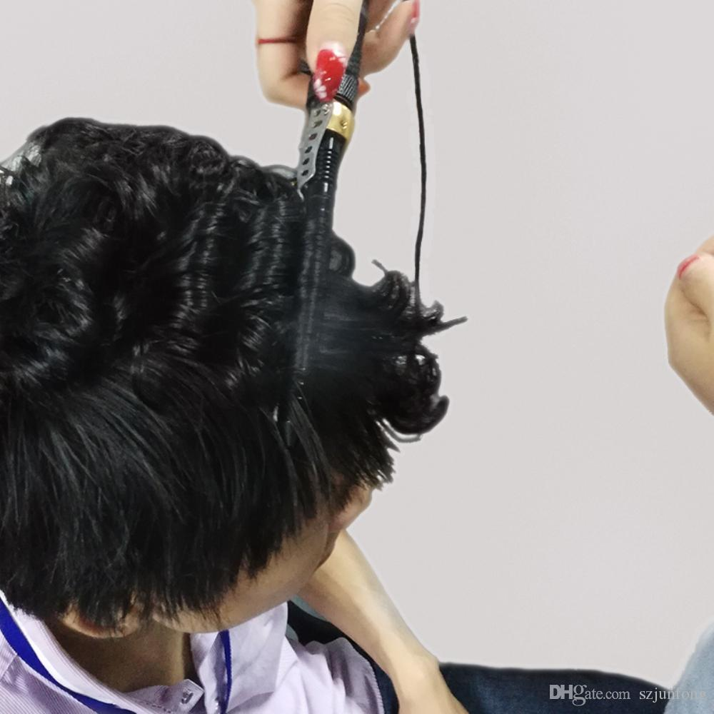 Professional Hair Curler Men Curling Iron Hair Sticks