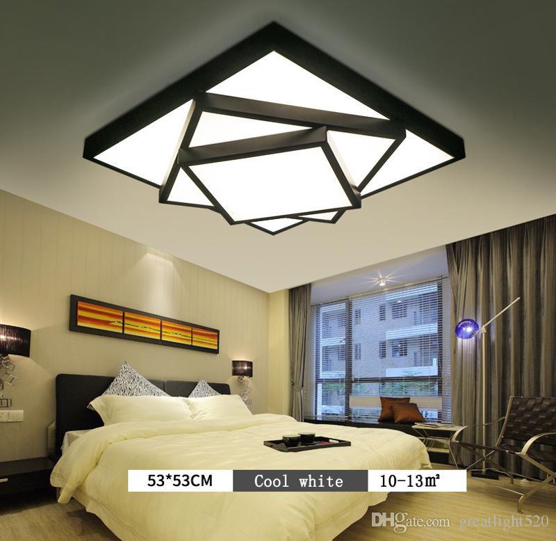 Modern teto LED Praça Stack Light Iluminação Praça luminária Para Quarto Sala AC 85-260V