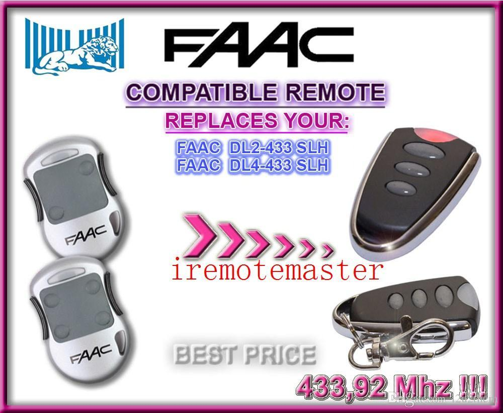 After Marekte Faac Remote For Faac Garage Door Openers Locksmith