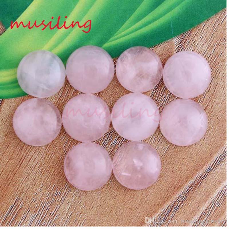 Branelli allentati di 12mm Perle piatte in pietra naturale Charms Accessori Perline fai da te la produzione di gioielli Ametista Opale di cristallo opale agata ecc. Pietra