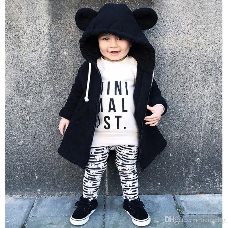 f2383a29f Bear Kids Zipper Jacket Cartoon Cotton Hoodies Coats Long Sleeve ...