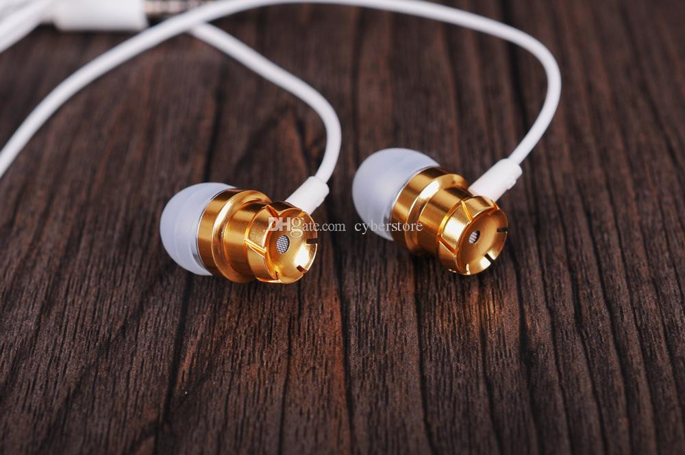 3,5mm jack metall kopfhörer kopfhörer universal kopfhörer in-ohr headset mit mikrofon für handy für iphone 6 5 xiaomi galaxy s8 huawei telefon