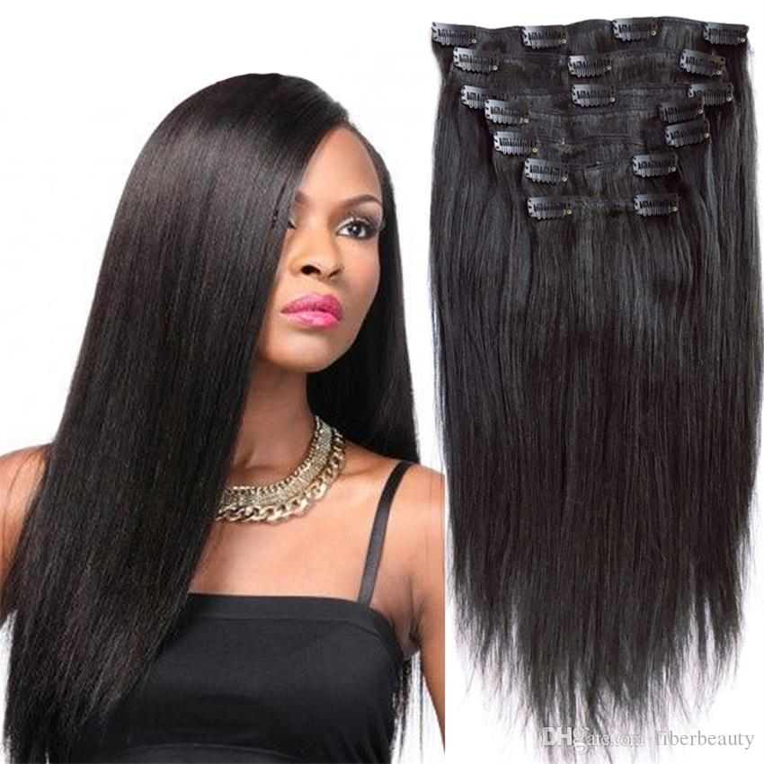 New Arrival Brazilian Human Hair Weave Clip In Human Hair Extensions