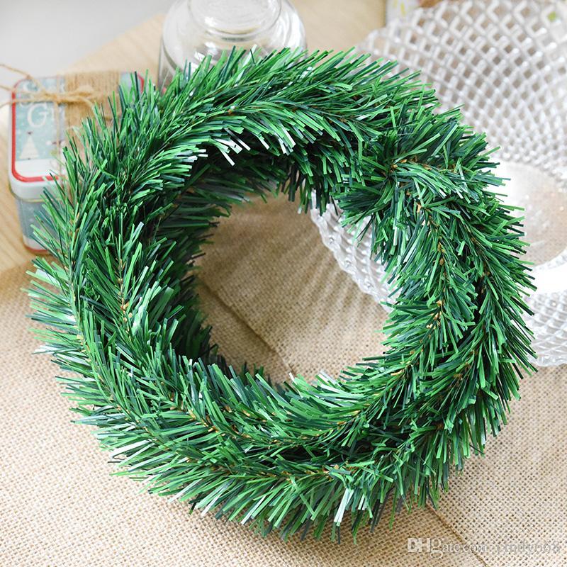 Vintage Christmas Decorations 5 5m Plastic Iron Wire Garland Ribbon