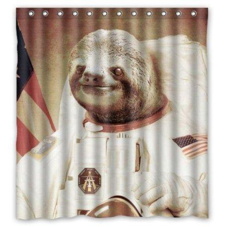 2019 Customized Sloth Astronaut New Diy Design For Shower ...
