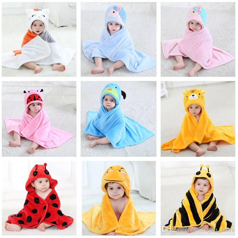 kids hooded beach towels. 29 Style Cute Kids Animal Bathrobe Baby Bath Towels Flannel Poncho Hooded Beach Towel Cow Cartoon Swim Wrap Blankets Personalized Blanket For D
