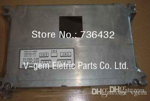 Schneller kostenloser Versand! Komatsu-Baggersteuerung 7834-21-6002, PC-6 6D102-Baggercomputerkarte gelten für Komatsu-Baggerbauteile