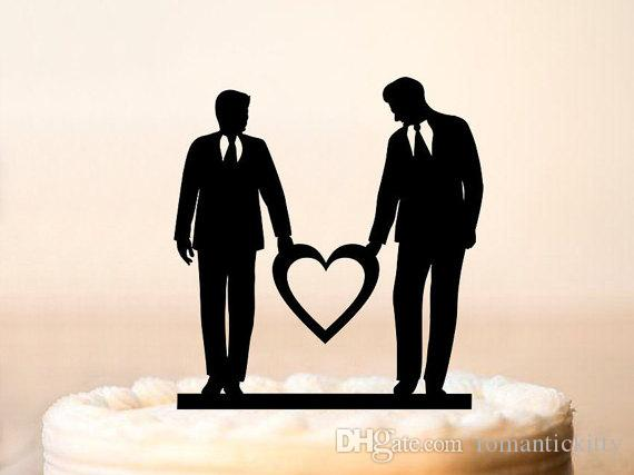 Gay wedding cake toppers 1