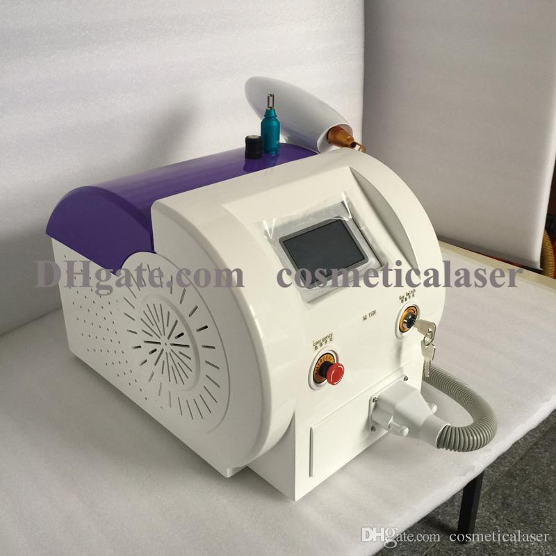 Laser q switch nd yag for tattoo and pigment therapy / tattoo removal nd yag laser machine
