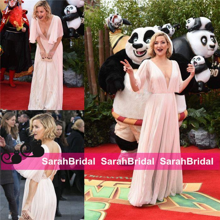 Großhandel Kate Hudson 2016 Oscar Stil Celebrity Kleider Modische ...