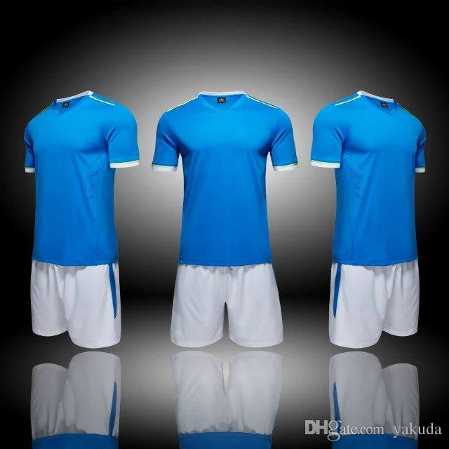 e4a3d6f5b80 2019 Discount 2017 New Mens Custom Team Personalized Soccer Uniform, Customized Your Team Logos Blank Soccer Jersey Shirts Tops With Shorts Sets  From Yakuda, ...