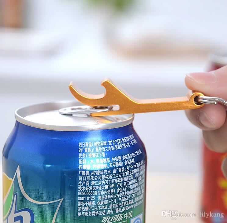 Portable mini Waiter Wine Tool Bottle Opener with keychain Bottle Opener Bar Beer tool Tools Key Chain