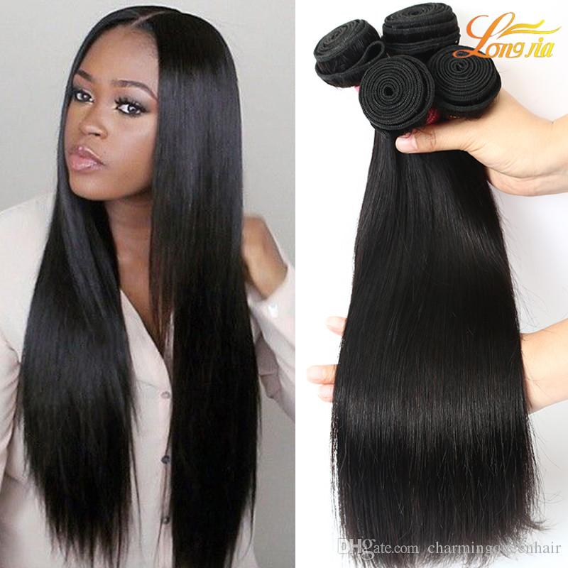 Factory Indian Straight Hair Extension Virgin Human Hair Bundles