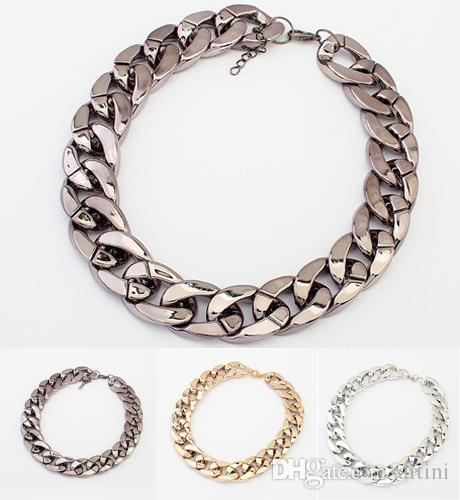 Wholesale popular fashion ccp bling rhinestone nature stone wholesale popular fashion ccp bling rhinestone nature stone necklace simple chain joker necklace clothing accessories e783e mens pendant necklaces turquoise aloadofball Image collections
