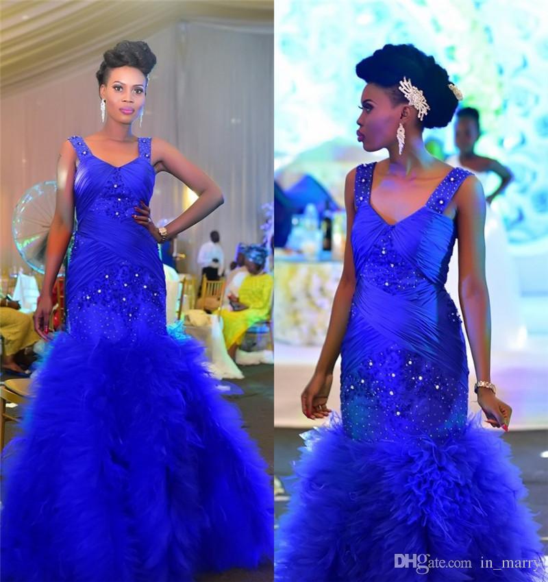 Royal Blue Afri... African Prom Dresses 2017